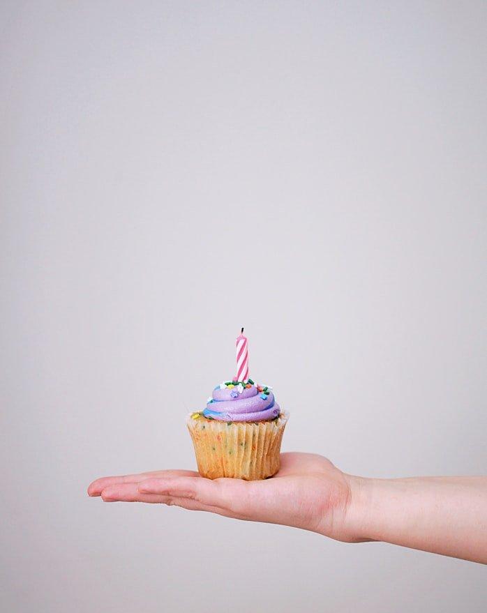 Allergen-free cupcake