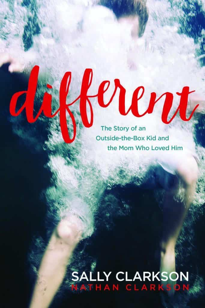 Book Cover Different by Sally Clarkson