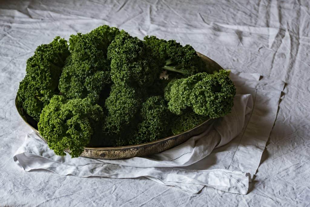 platter of parsley